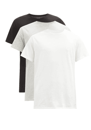 Calvin Klein Underwear - Pack Of Three Cotton-jersey T-shirts - Mens - Multi