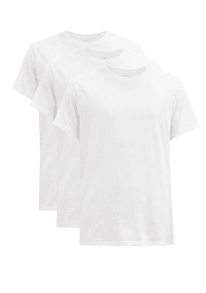 Calvin Klein Underwear - Pack Of Three Cotton-jersey T-shirts - Mens - White