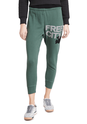 FREECITY Freecity Large 3/4 Sweatpants