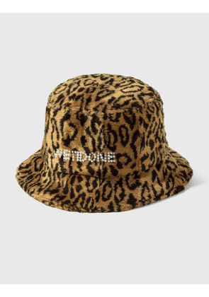 We11done Pearl Logo Bucket Hat