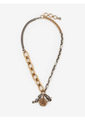 ALEXANDER MCQUEEN Charms Long Chain Necklace - Item 652534I12KK1200