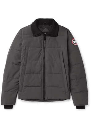 Canada Goose - Woolford Quilted Shell Down Jacket - Men - Gray