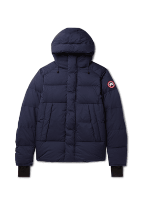 Canada Goose - Armstrong Packable Quilted Nylon-Ripstop Hooded Down Jacket - Men - Blue