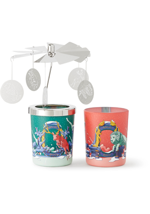 DIPTYQUE - Christmas Scented Candle and Carousel Set, 2 x 70g - Men - Colorless