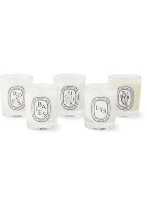 Diptyque - Miniature Scented Candle Set, 5 x 35g - Men - Colorless
