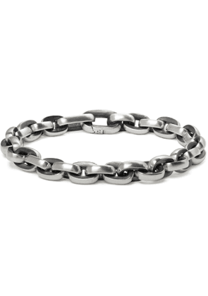 David Yurman - Sterling Silver Chain Bracelet - Men - Silver