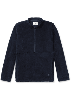 Folk - Fleece Half-Zip Jacket - Men - Blue