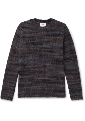 Folk - Slim-Fit Knitted Sweater - Men - Blue