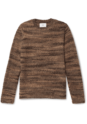 Folk - Slim-Fit Knitted Sweater - Men - Brown