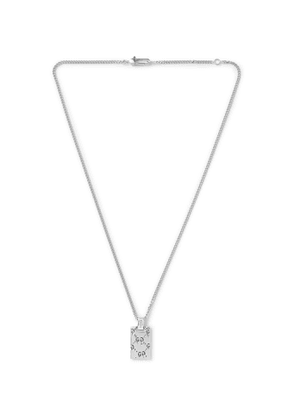 Gucci - Sterling Silver Necklace - Men - Silver