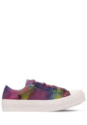 Ghillie Dyed Cotton Canvas Sneakers