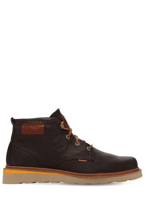 Jackson Mid Grain Leather Boots