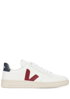 20mm V-12 Leather & Suede Sneakers