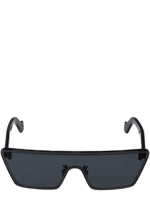 Flat Mask Metal Sunglasses