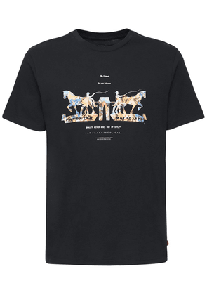 Graphic Printed Cotton T-shirt