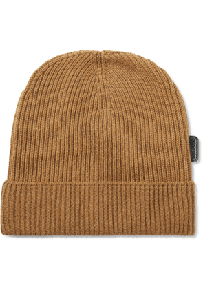 TOM FORD - Ribbed Cashmere Beanie - Men - Brown