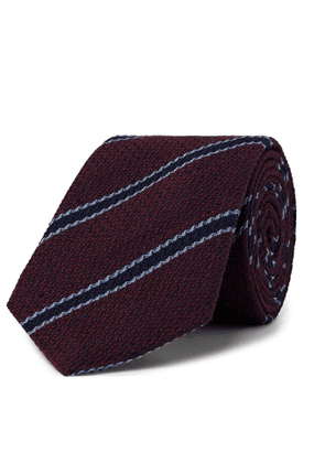 Turnbull & Asser - 8cm Silk-Jacquard Tie - Men - Burgundy