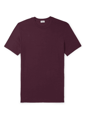 Zimmerli - Pureness Slim-Fit Stretch Micro Modal T-Shirt - Men - Red
