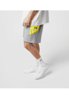 The North Face Extreme Block Shorts, Grey/Yellow