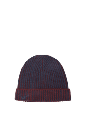 Sease - Dinghy Logo-embroidered Cashmere Beanie - Mens - Navy