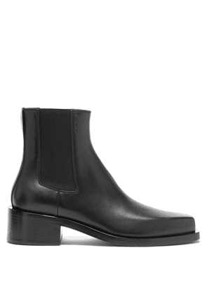Givenchy - Austin Square-toe Leather Chelsea Boots - Mens - Black