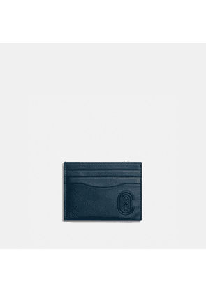 Card Case With Patch in Blue