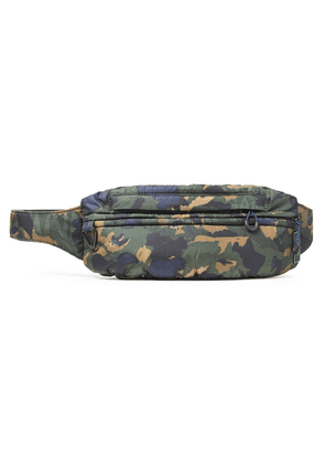 Ganni Printed Shell Belt Bag Man Army green Size --