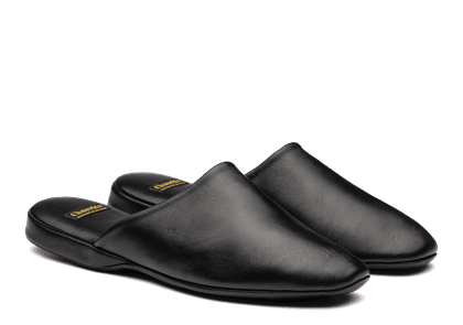 Church's Nappa Leather Slipper Man Black Size 12