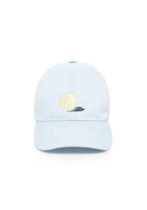 Thom Browne Embroidered Cotton Baseball Hat