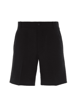 Thom Browne Tailored Engineered Wool Shorts
