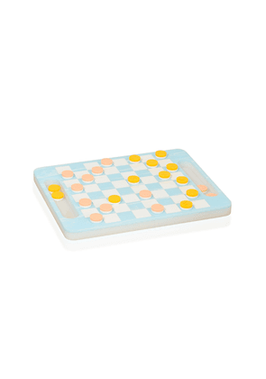 Edie Parker Acrylic Checkers Set