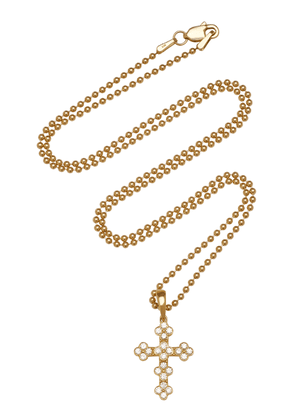 Ashley McCormick - Women's 18K Gold Diamond Necklace - Gold - Moda Operandi - Gifts For Her