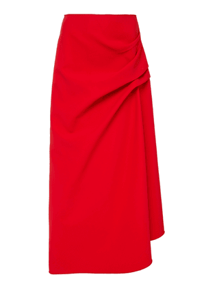 Acler Thistle Gathered Crepe Skirt