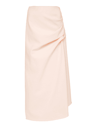 Acler Thistle Gathered Midi Skirt