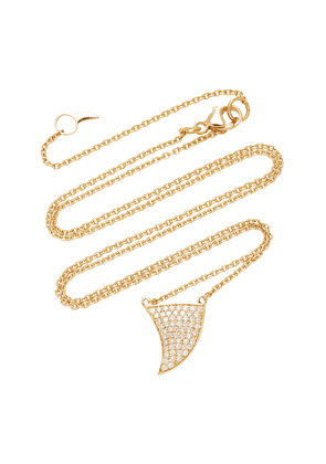 ONDYN - Women's Great Wave 14K Gold and Diamond Necklace - Gold - Moda Operandi - Gifts For Her