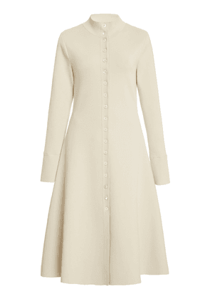 Beaufille Giotto Button-Embellished Jersey Midi Dress