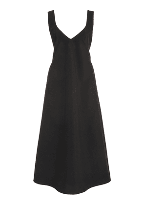 Beaufille Rohe Crepe Midi Dress
