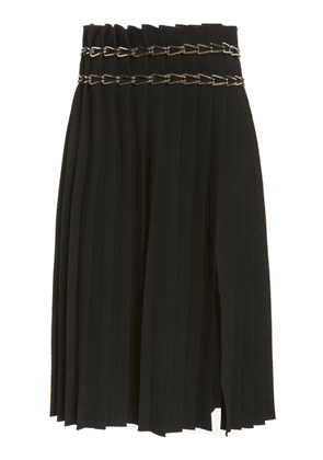 Dion Lee Chain-Detailed Crepe Skirt