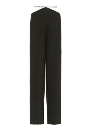 Dion Lee Chain-Detailed Wool-Blend Pants
