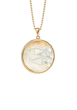 Ashley McCormick - Women's Pisces 18K Gold Necklace - Gold - Moda Operandi - Gifts For Her
