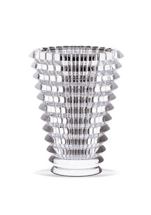 Baccarat Eye Vase Small Round Clear