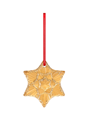 Baccarat 2020 Annual Ornament 20K Gold