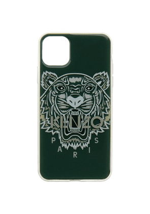 Kenzo Green Tiger Logo iPhone 11 Pro Max Case