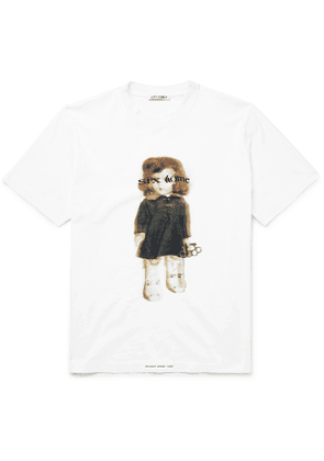 Our Legacy - Printed Cotton-Jersey T-Shirt - Men - White