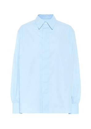 Cotton poplin shirt