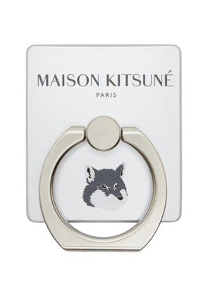 Maison Kitsune Silver Fox iRing Phone Ring