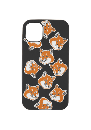 Maison Kitsune Black Fox Head iPhone 11 Case