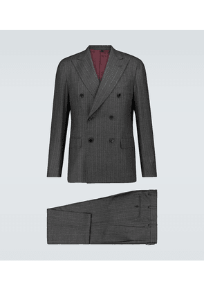 Aida pinstriped wool suit
