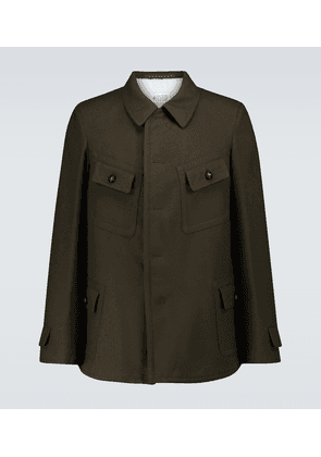 Military casual jacket
