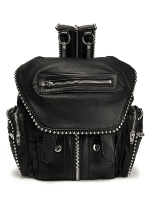 Alexander Wang Studded Leather Backpack Woman Black Size --